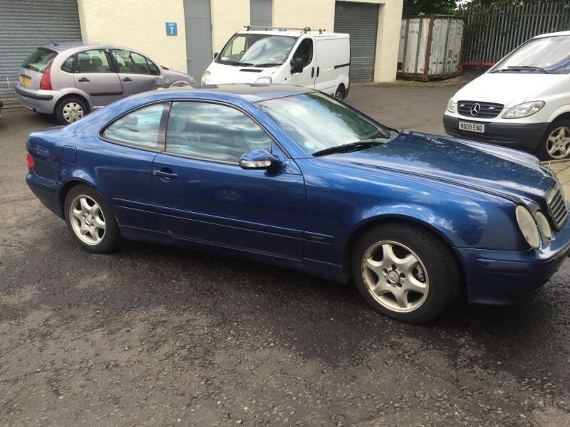 mercedes clk200 1yr mot in bathgate west lothian gumtree. Black Bedroom Furniture Sets. Home Design Ideas