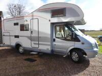 Burstner Nexxo Family A630 coachbuilt motorhome for sale ref 13072 SALE AGREED