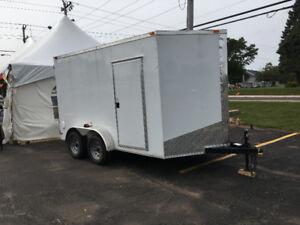 NEW 7 x 7 x 12 cargo trailer