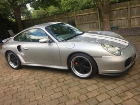 Porsche 911 996 turbo 2001 sports classic homage