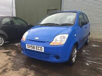 Chevrolet matiz s (1 Years MOT) 41,000 miles 2 owners £1195