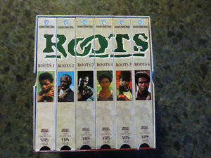 Roots (VHS, 2001, 6-Tape Set, Six Tape Boxed Set)