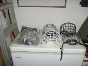 HOCKEY METAL FACE GUARDS $3 EACH