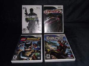 4 Wii games incl FarCry Vengeance, Call of Duty MW3 & more