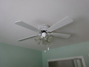 Ceiling fan - 2 of them matching