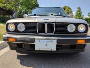 1988 BMW 325i, 4 door, manual