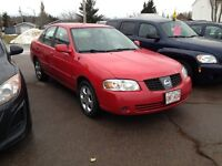 2005  NISSAN SENTRA AUTOMATIC LOADED ,INSPECTED