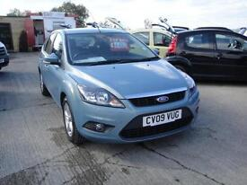 2009 Ford Focus 1.6 Zetec. Only 34,000 miles. 2 owners with FSH.