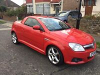 Stunning looking convertible diesel Vauxhall tigra 1.3 tdi sport with every extra