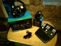 Logitech G920 Xbox One Steering wheel + shifter. BOXED!!