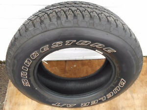 1 New Bridgestone Dueler A/T  255/70R18 West Island Greater Montréal image 1