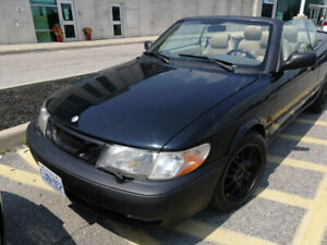 1999 classy Saab 9-3 convertible Certified! Moded exhaust