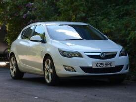 2011 61 Vauxhall Astra 2.0 CDTi 16v 160 ecoFLEX SRi White - Full History