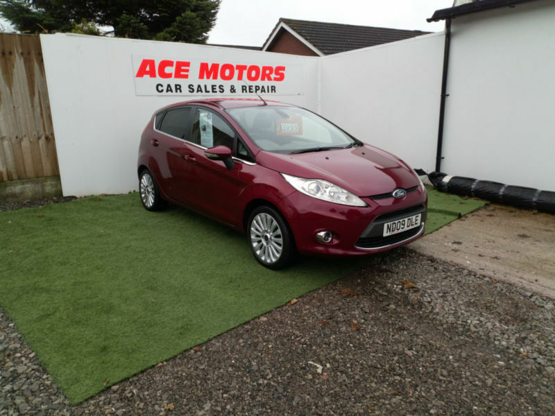 2009 FORD FIESTA 1.6 TITANIUM 5 DR ONLY 73000 MILES WITH FULL SERVICE HISTORY