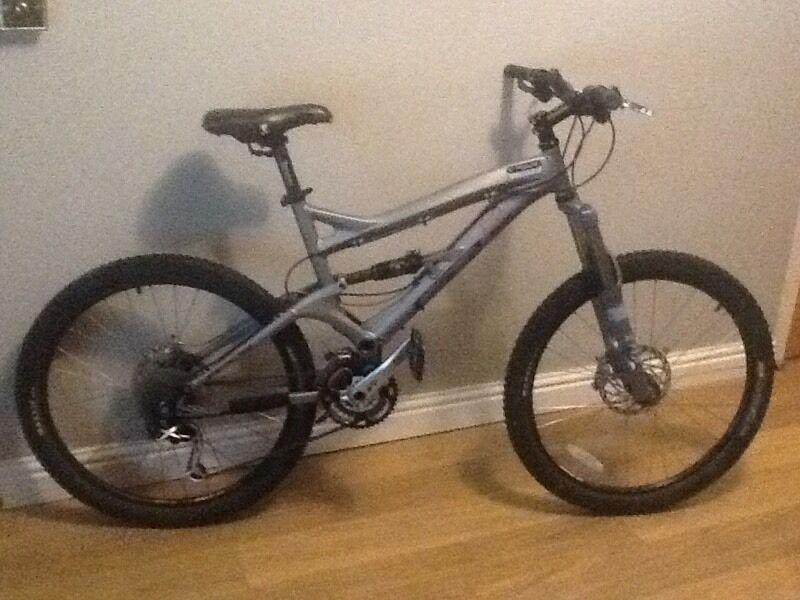 gt force full suspension mountain bike in bridgend gumtree