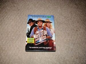 A MILLION WAYS TO DIE IN THE WEST DVD FOR SALE!