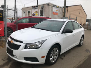 2012  CHEVROLET CRUZE LS BLUTOOTH 169404 KM INSPECTED CAR