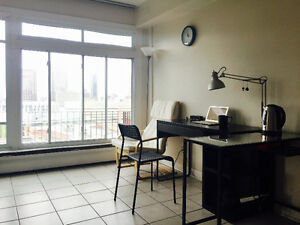 Sunny 2 1/2 Private Apartment in Downtown Montreal