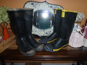 Steel Toe Safety rubber boots