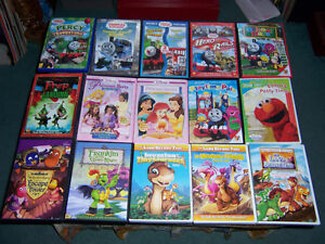 FOR SALE DVD.s FOR KIDS &FAMILY PLUS SOME NEW DISNEY.