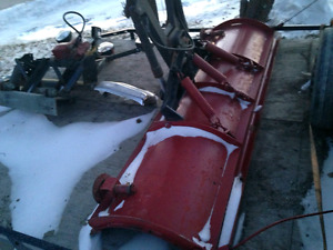 hydraulic Plow with lights