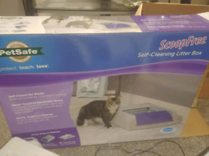 Scoop free automatic litter box (CLEAN)