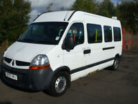 .2007/07,Renault MASTER 8 SEAT,AMBULANCE WHEEL CHAIR AXESS MINI BUS WITH RAMP