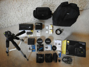NIKON P900 Camera Bundle Package w/ Everything You Need And More