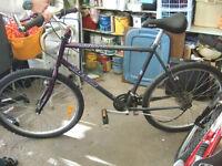 aluminum bike for part