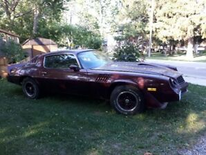 1979 Camaro Z28…. no rust……. never winter driven…