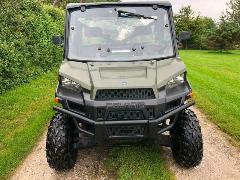 2014 64 POLARIS RANGER 1000 DIESEL 1300 HOURS 4X4 4WD UTILITY ATV NO VAT |  in Holywell, Flintshire | Gumtree
