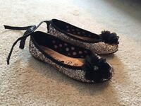 Glittery girls pumps from George size 11