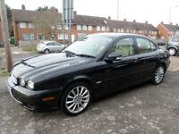 2008 Jaguar X-TYPE 2.0D S 4DR 58 REG Diesel Black