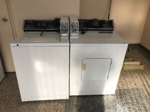 4 Commercial washer & dryer for sale