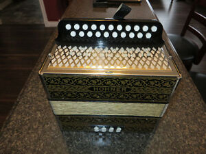 Hohner accordion.Fully Serviced.Key of G/C.Made in Germany!