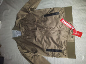 Guess Olive Green Bomber Jacket