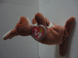 TY POUCH The KANGAROO MOTHER AND JOEY RETIRED BEANIE BABY, TUSH London Ontario image 8