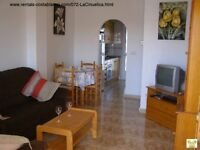 Costa Blanca, Spain. 2 bedroom, 1st floor apt, a/c, Wi-Fi, English TV, Sleeps 4 – MAY £210 pw