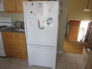 Fridge...less then 1yr old from Sears...