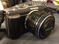 OLYMPUS PEN E-PL1 WITH MICRO 14-42mm LENS For SALE