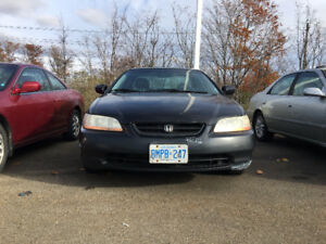 2000 Honda Accord Coupe Automatic 301797km **AS IS**