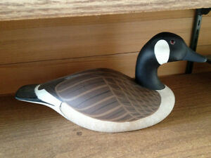 Decoy  Canada Goose wood