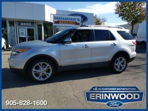 2013 Ford Explorer Limited6CYL/LTHR/DUAL PANEL MOONROOF/REM STAR