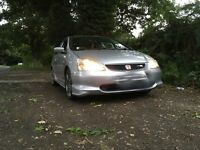 2003 Honda Civic Type R with private reg