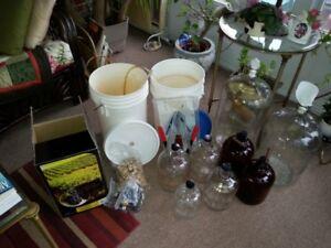 Wine Making Equipment - 2 sets