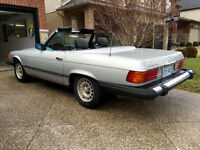 1982 Mercedes Benz SL380 Roadster