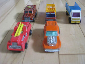 LOT DE VOITURES LESNEY DE MATCHBOX-$37 LE LOT