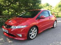 2009 59 HONDA CIVIC 2.0i VTEC TYPE R GT ONLY 2 OWNERS 72K FSH RED