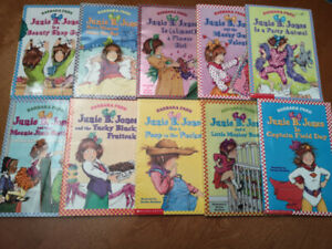 Junie B. JONES kid's novels