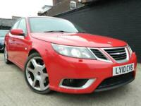 10 Saab 9-3 Aero 2.8 V6 Turbo 280 Bhp XWD Auto Sat Nav Heated Leather 1 OwnerFSH for sale  Chesham, Buckinghamshire